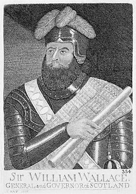 Painting - Sir William Wallace (1272?-1305) by Granger
