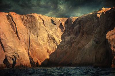 Siren Rocks Art Print