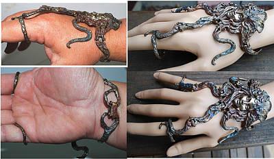 Shibuichi Jewelry - Sirena Bracelet by Michelle  Robison