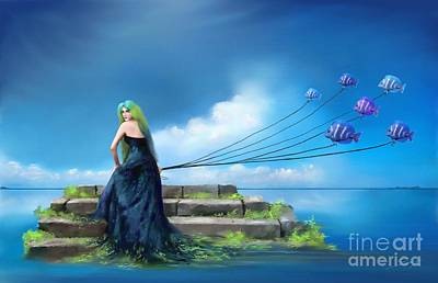 Painting - Sirens Lure by S G