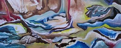 Painting - Sirens by Nereida Rodriguez