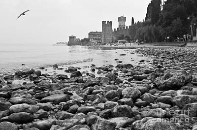 Photograph - Sirmione Castle by Simona Ghidini