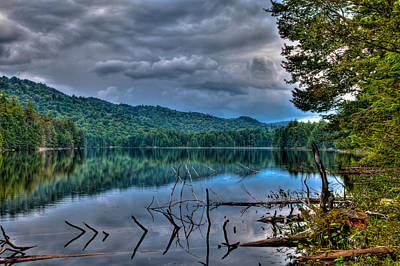Photograph - Sis Lake In The Adirondacks by David Patterson