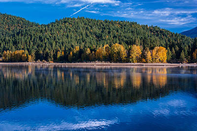Siskiyou Lake Shoreline Art Print