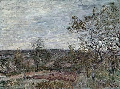 Impressionism Photograph - Sisleyalfred 1839-1899. Windy Day by Everett