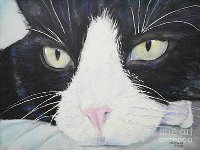 Sissi The Cat 2 Art Print