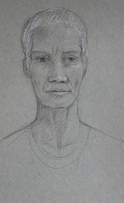 Sister Caroline Original by Deborah Dendler
