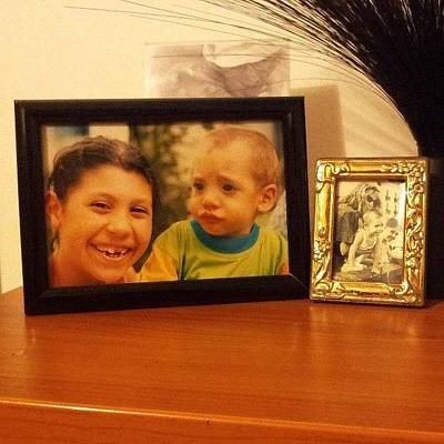 Young Woman Photograph - #sister #love #friends #picture_frame by Marco Folegatti