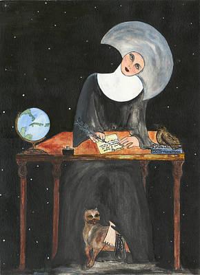 Sister Margaret Original by Lupita Fernandez Soberon