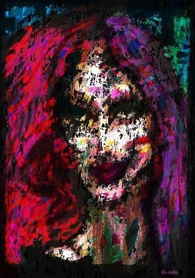 Zeus Painting - Sister Nyx by Brett Sixtysix