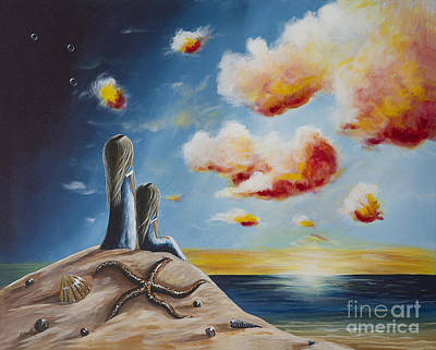 Contemporary Seascape Art Painting - Original Seascape Artwork by Shawna Erback