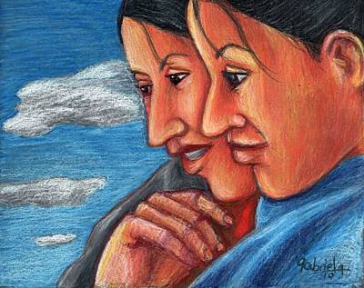 Sisters Art Print by Gabriela Nunez