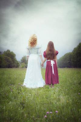 Embrace Photograph - Sisters by Joana Kruse