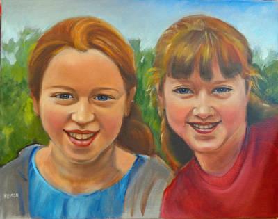 Painting - Sisters by Kaytee Esser