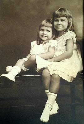 Photograph - Sisters by Lew Davis