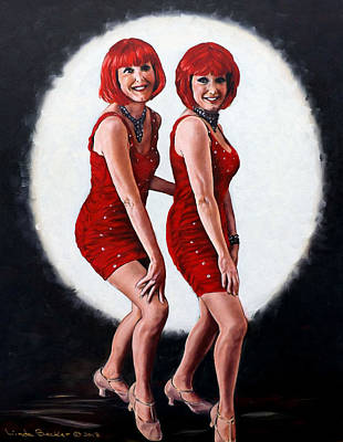 Painting - Sisters by Linda Becker