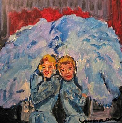 Sisters Sisters Original by Susan E Jones