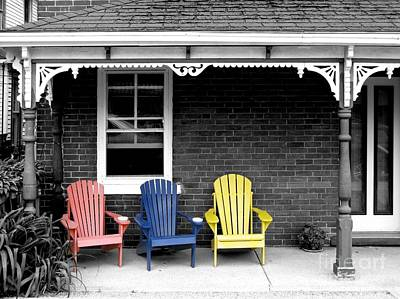 Sit And Relax Art Print by Michael Swanson