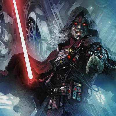 Wall Art - Digital Art - Sith Cultist by Ryan Barger