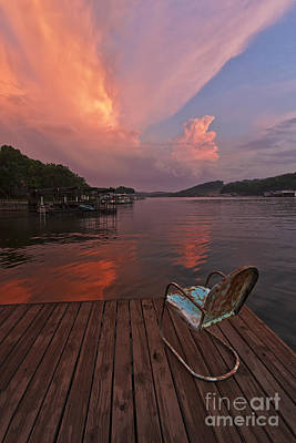 Photograph - Sittin' On The Dock 2 by Dennis Hedberg