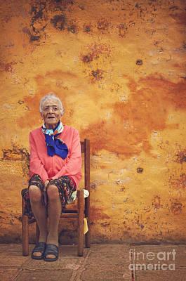 100 Greatest Singles Photograph - Sitting Alone by Danilo Piccioni