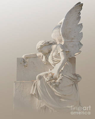 Photograph - Sitting Angel by Josephine Cohn