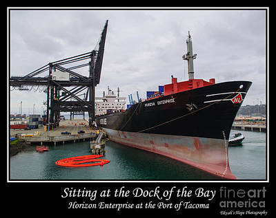 Photograph - Sitting At The Dock Of The Bay by Tikvah's Hope