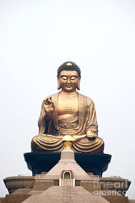 Photograph - Sitting Buddha Statue by Yew Kwang