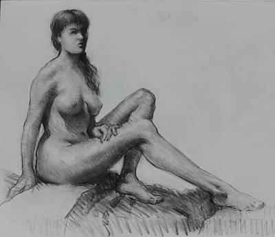 Sitting Figure Original