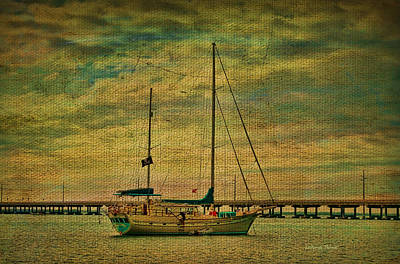 Sitting In The Bay Art Print