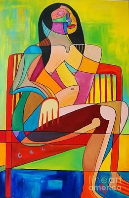 Painting - Sitting In The Sun by Deborah Glasgow