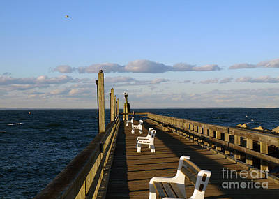 Photograph - Sitting On The Dock by Arizona  Lowe