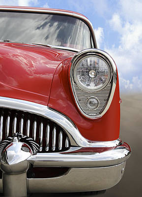 Street Rod Photograph - Sitting Pretty - Buick by Mike McGlothlen
