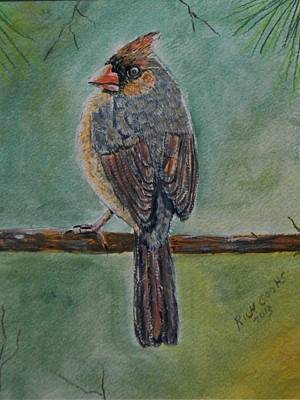 Waiting For The Sun Painting - Sitting Pretty by Richard Goohs