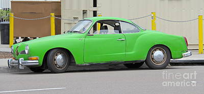 Photograph - Sitting Pretty Karmann Ghia by Suzanne Oesterling