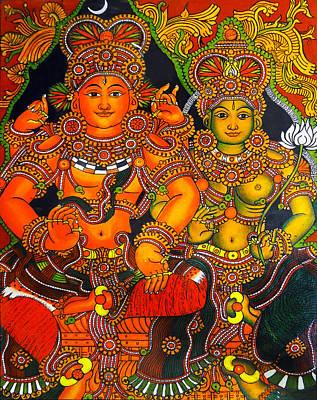Siva And Parvathy Original by Arun Sivaprasad