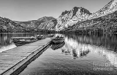 Photograph - Silver Lake by Beth Sargent