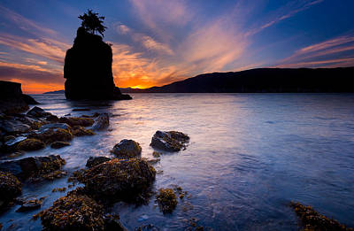 Stacks Photograph - Siwash Rock by Alexis Birkill
