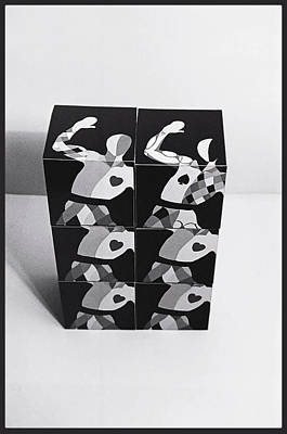 Painting - Six Boxes Dancing by Charles Stuart
