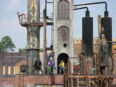Six Flags America - 12129 Art Print