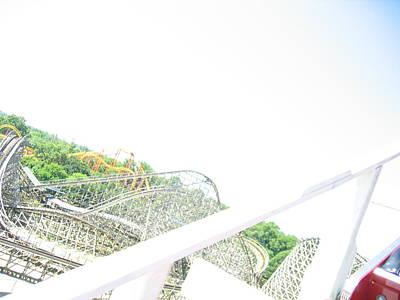 Six Flags America - Wild One Roller Coaster - 12126 Art Print