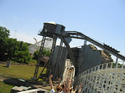 One Photograph - Six Flags America - Wild One Roller Coaster - 12128 by DC Photographer
