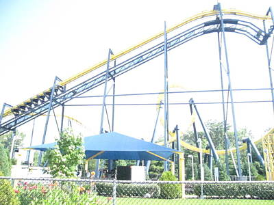 Sixflag Photograph - Six Flags Great Adventure - 12121 by DC Photographer