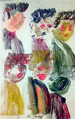 Six Men Art Print