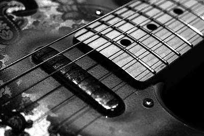 Photograph - Six String by Mark Rogan