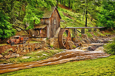 Sixes Mill Print by Priscilla Burgers