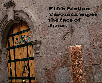 Photograph - Sixth Station Of The Cross by Don Wolf