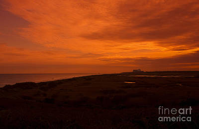 Coastguard Cottages Photograph - Sizewell Suffolk by Darren Burroughs