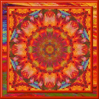 Digital Art - Sizzler Mandala by Charmaine Zoe