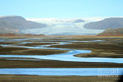 Photograph - Skaftafell Glacier by Paula Guttilla